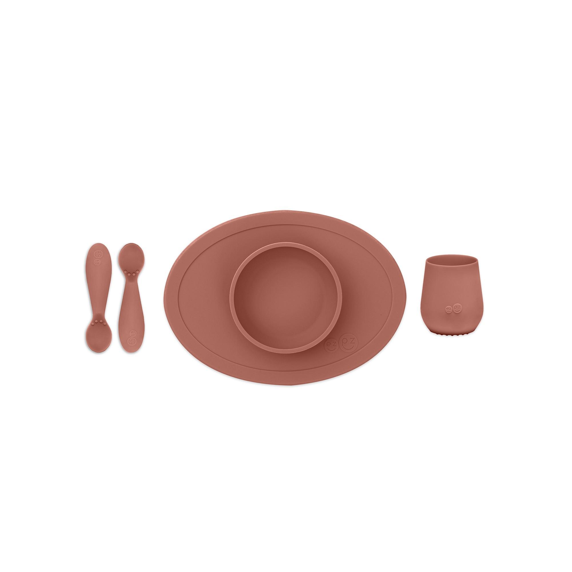 Перший набір посуду теракотовий (4 од. в наборі)