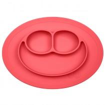 Тарілка-килимок червоний