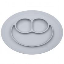 Тарілка-килимок сірий