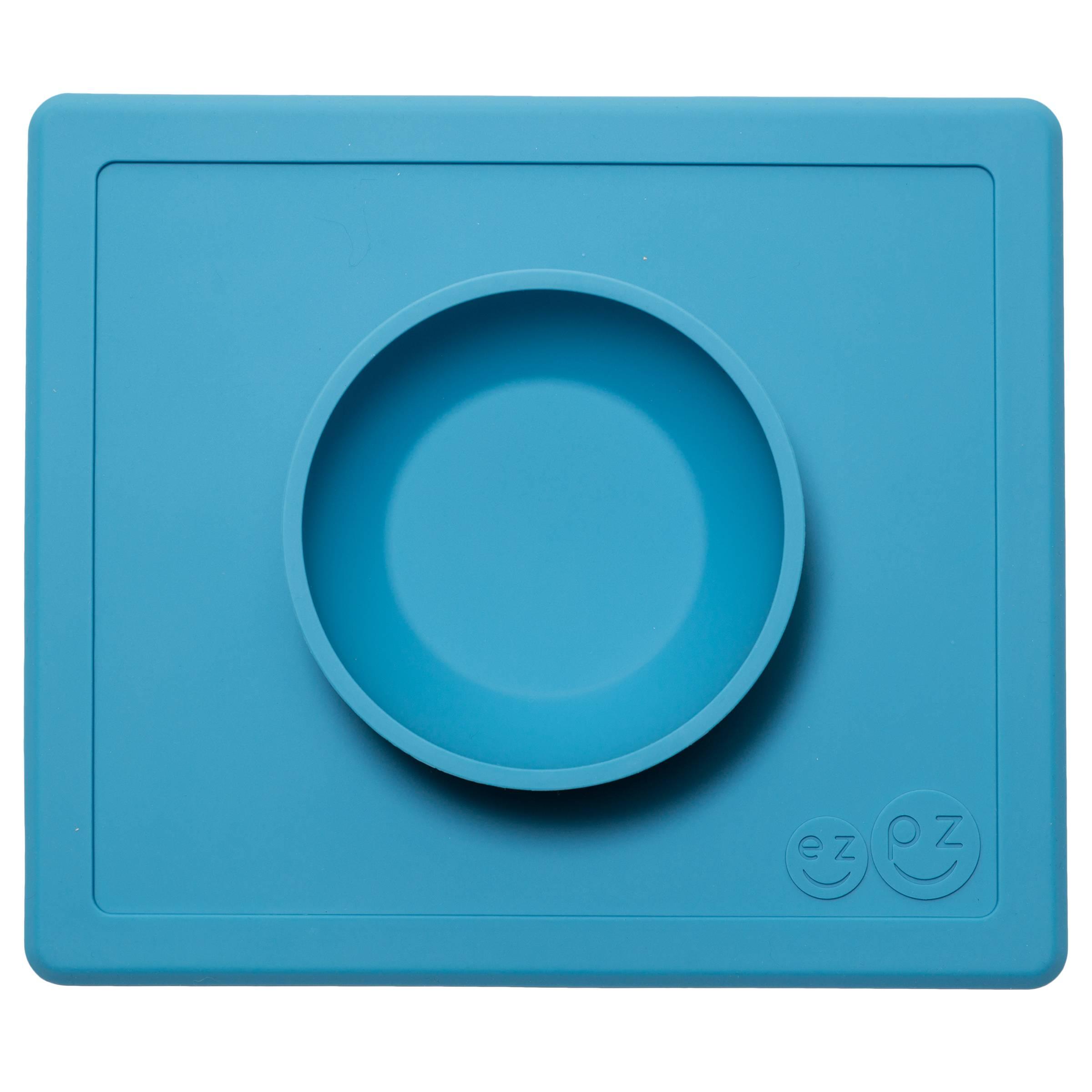 Миска-коврик голубой